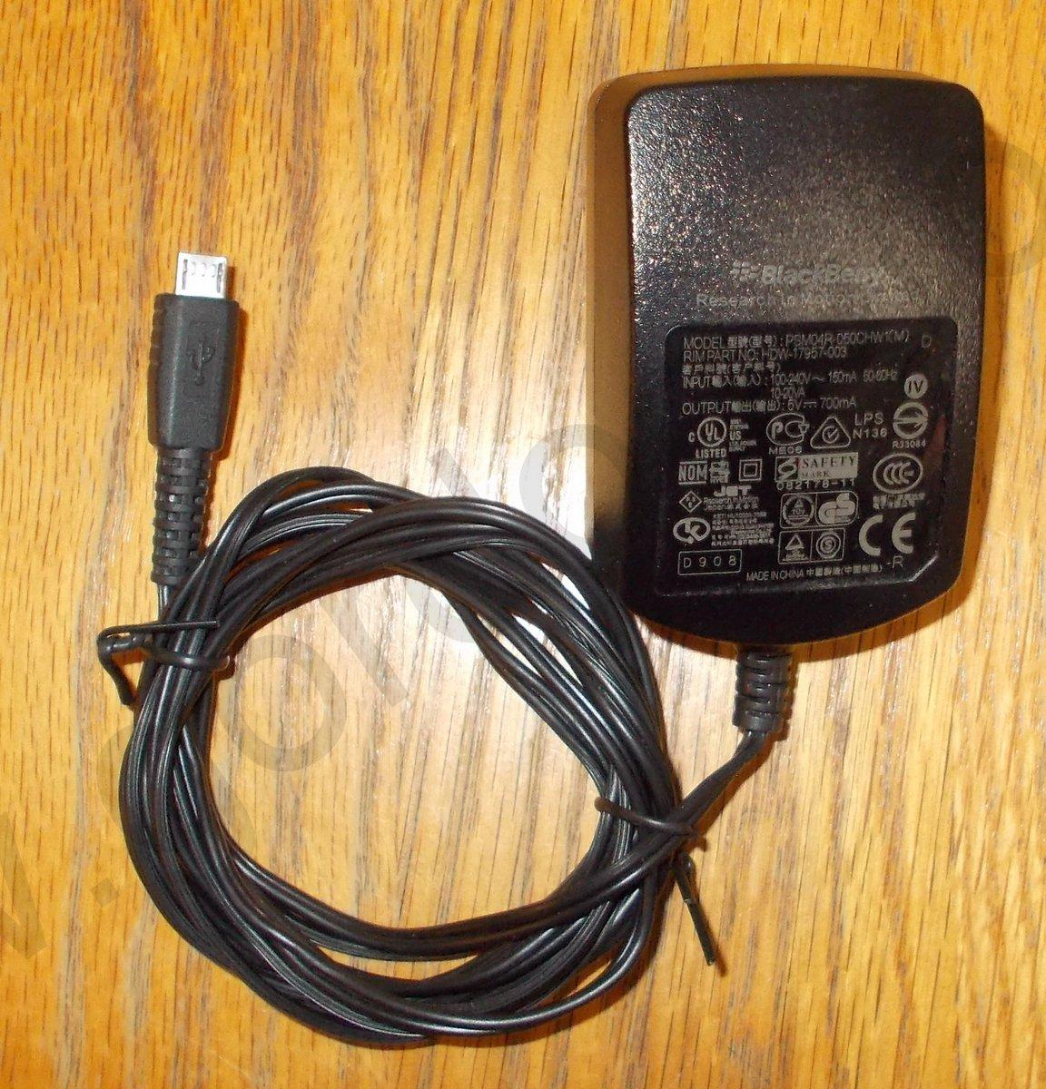 Blackberry Psm04r 050chw1 Ac Adapter Charger Gordogatos Interesting Stuff