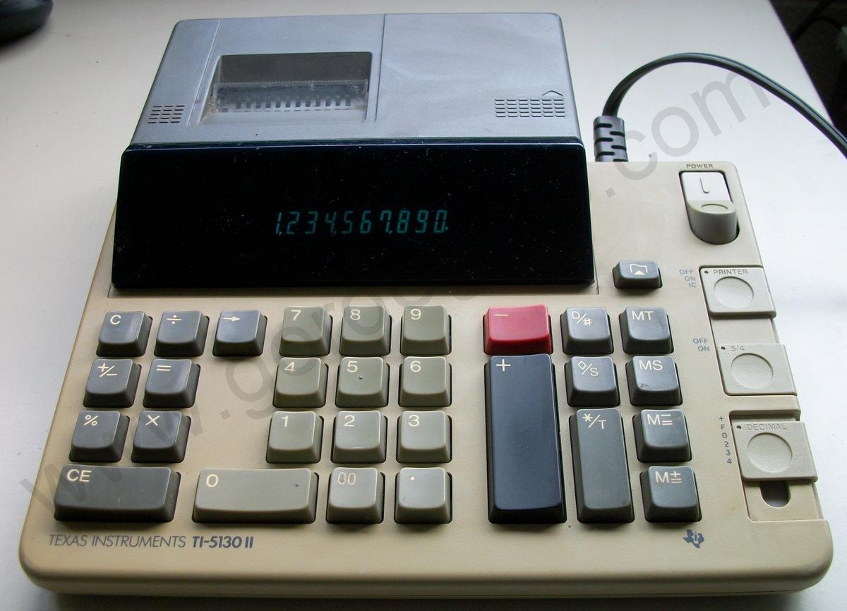 Texas Instruments Ti 5130 Ii Calculator Gordogato S