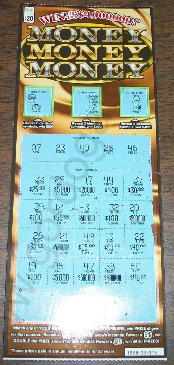 VA Lottery, Gordogato's Interesting Stuff