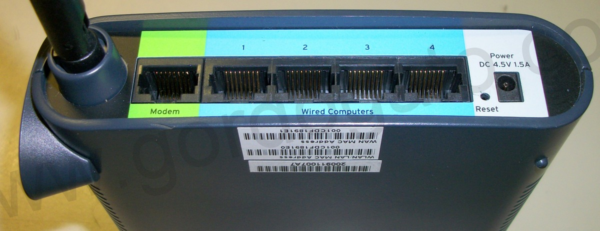 belkin wireless g router