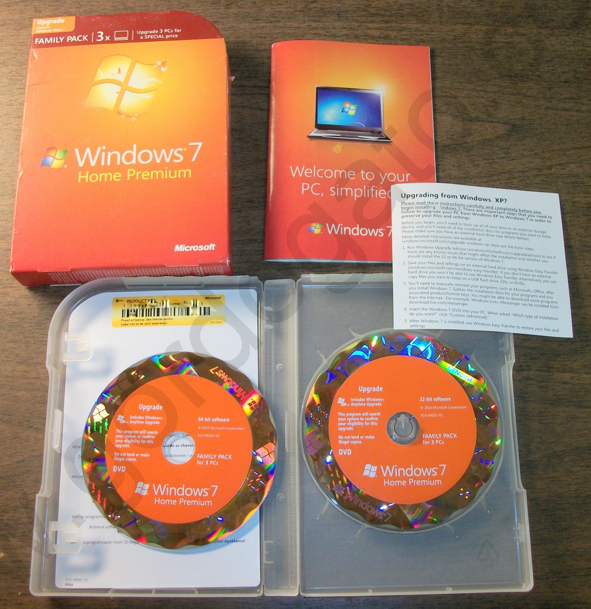 how much is Windows 7 Home Premium Family Pack student edition?