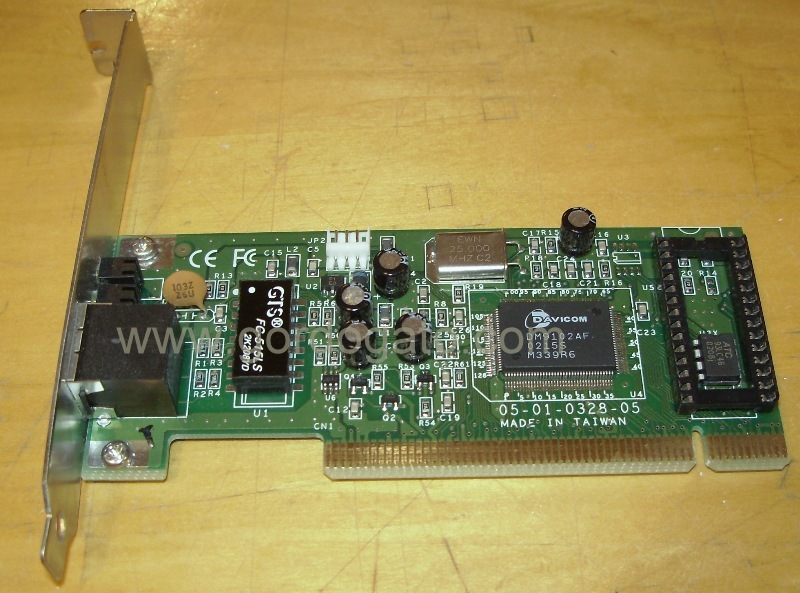 DAVICOM 9102-Based PCI Fast Ethernet Adapter Driver Download