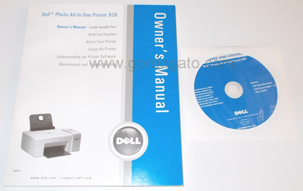 dell photo all in one printer 926 driver cd manual gordogato s rh gordogato com Dell Printer All in One Dell Printer Drivers