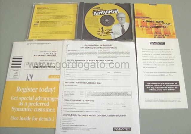 Symantec Norton AntiVirus 5 0 for Macintosh Apple Mac